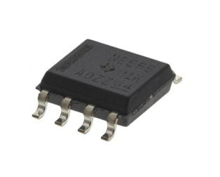 NE555DR SOIC-8 Timer (Pack of 5 ICs)