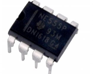 NE555P PDIP-8 Timer (Pack of 5 ICs)