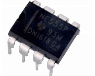 NE555P PDIP-8 Timer (Pack of 5 ICs)