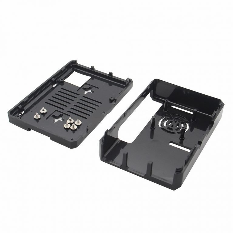 New High Quality Black ABS Case for Raspberry Pi 33+