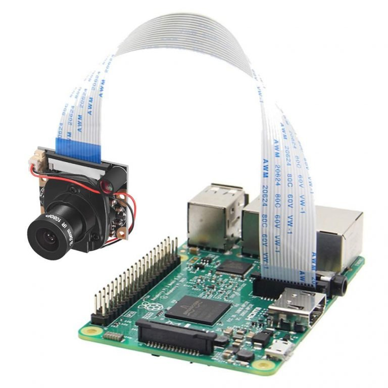 OV5647 5MP 1080P IR-Cut Camera for Raspberry Pi