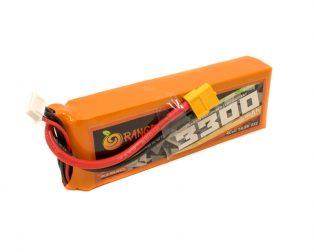 Orange 3300mAh 4S 25C50C Lithium Polymer Battery Pack (LiPo)