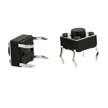 12x12x7.3mm Tactile Push Button Switch-10Pcs.