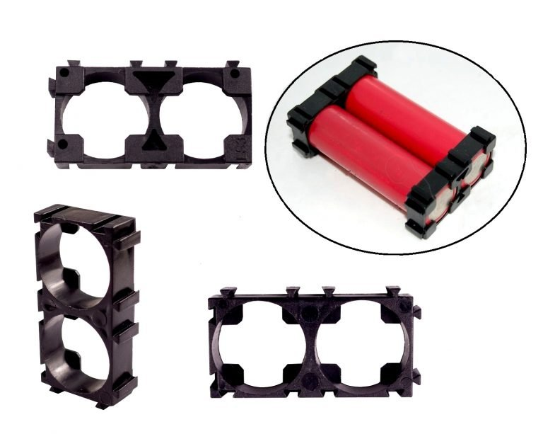 18650 2x1 Battery Cell Spacer/Holder-5Pcs.