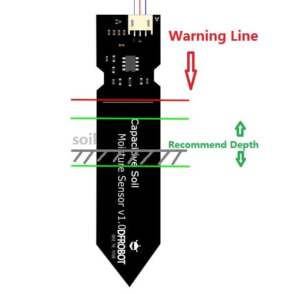 Capacitive Soil Moisture Sensor V2.0