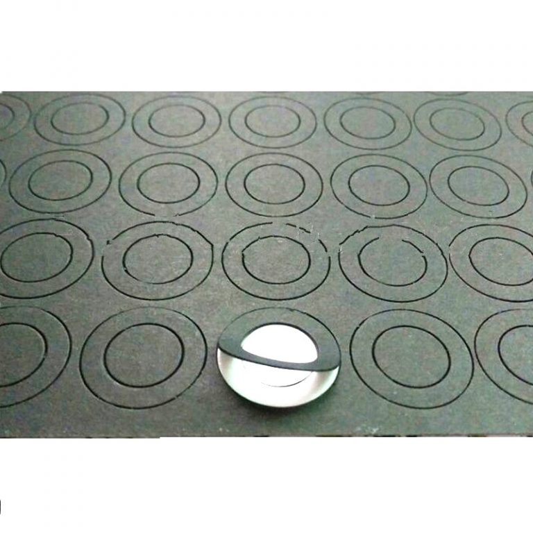 Single Hole Electrical Insulating Adhesive Mat for Battery Cell terminal Insulation-10 Pcs.