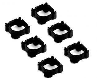 18650 Single Battery Cell Spacer/Holder-6Pcs.