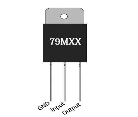 79M12 TO-220-3 Linear Voltage Regulator (Pack of 3 ICs)