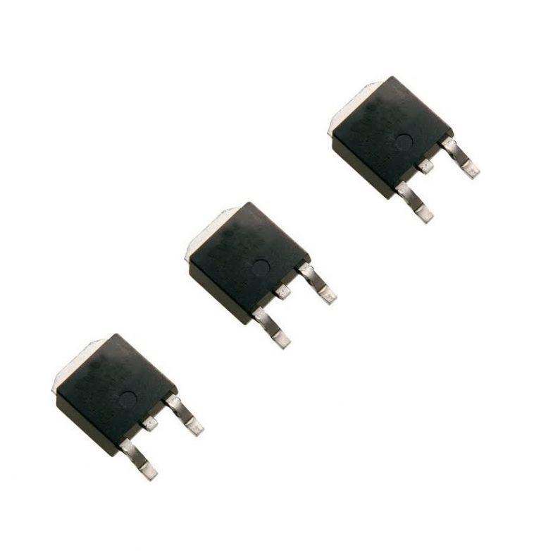 L78M09CDT-TR TO-252 Linear Voltage Regulators (Pack of 3 ICs)
