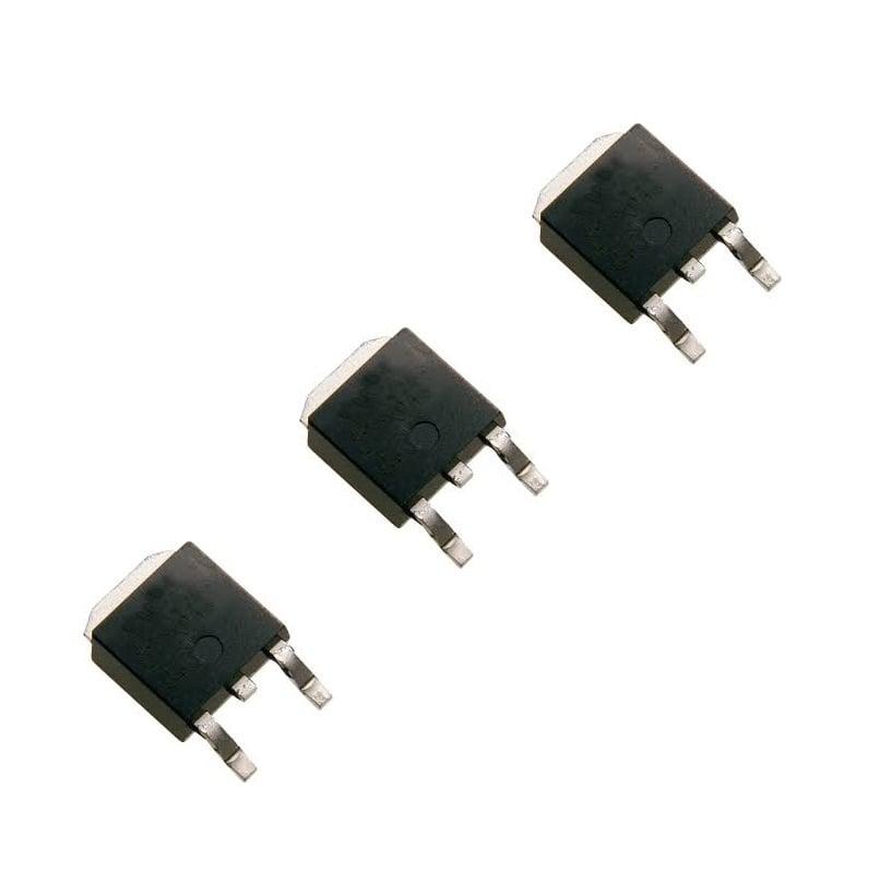 L78M12CDT-TR (TO-252) Linear Voltage Regulators (Pack of 3 ICs)