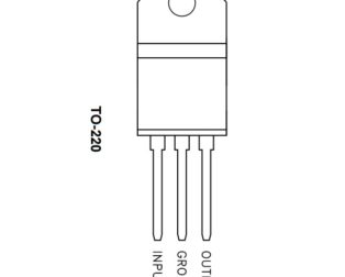 L78M09CV (L7809CV) TO-220 Linear Voltage Regulator (Pack of 3 ICs)