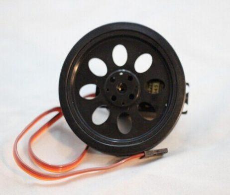 70mm Smart Car Robot Wheel Compatible with MG995 945 Servo Motor