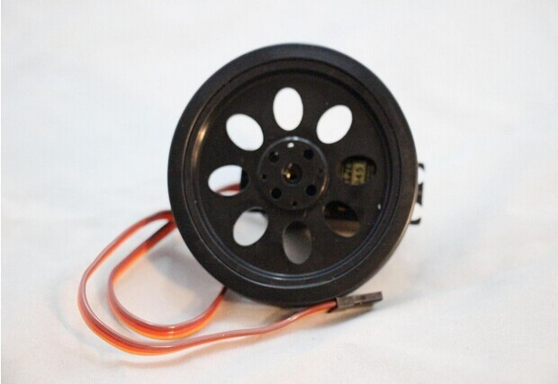 70mm Smart Car Robot Wheel Compatible with MG995 945 Servo Motor