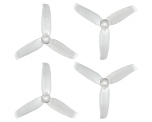 Orange 3052(3X5.2) Tri-Blade Flash Propellers 2CW+2CCW 2 Pair-Transparent