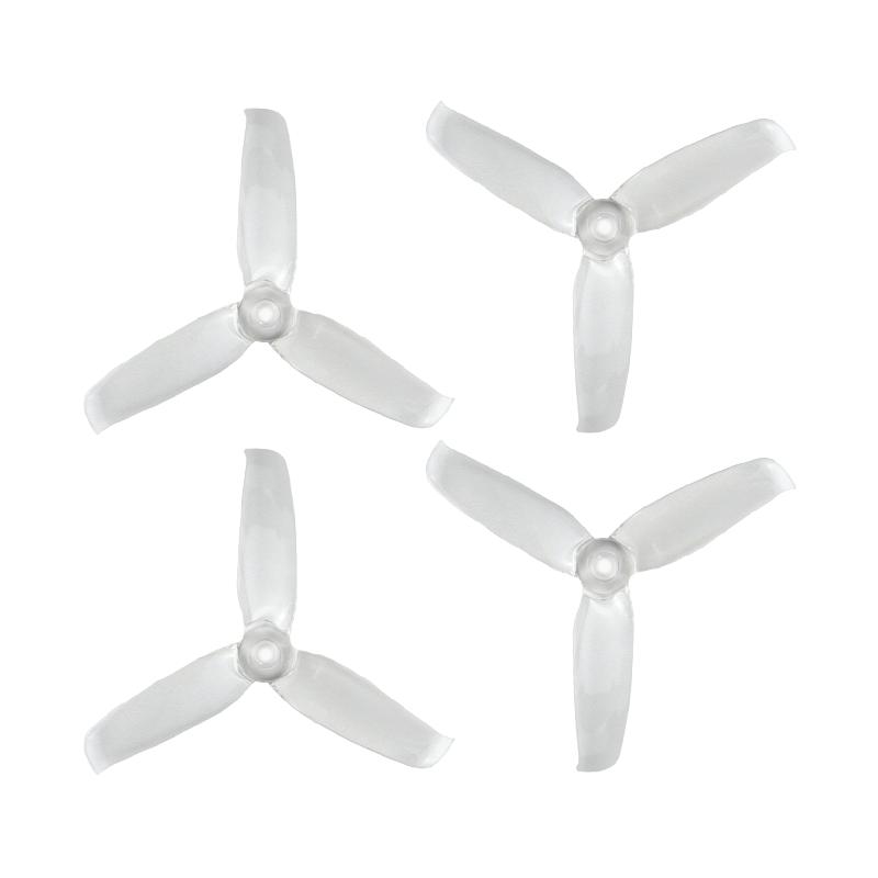 Orange 3052(3X5.2) Tri-Blade Flash Propellers 2CW+2CCW 2 Pair-Transparent