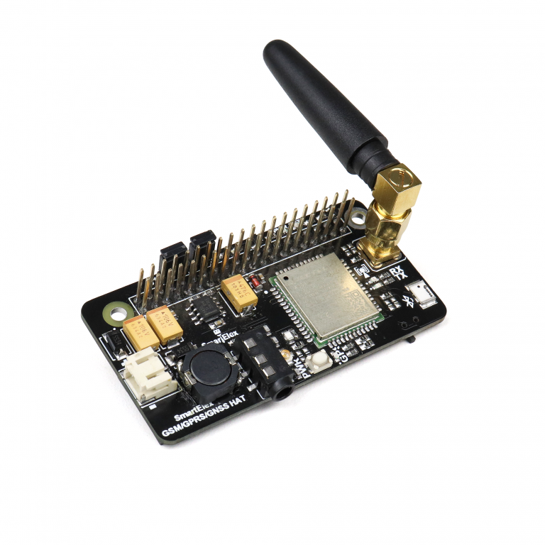 SmartElex GSM/GPRS/GNSS Bluetooth HAT for Raspberry Pi
