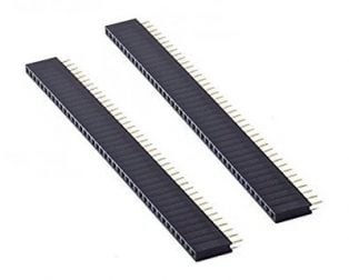 2mm Female Berg Strip 40x1