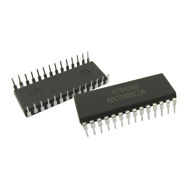ADC0808CCN PDIP-28 Analog to Digital Converter-ADC - Robu in | Indian  Online Store | RC Hobby | Robotics