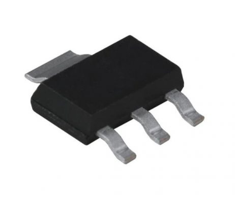 AMS1117-2.5V, 1A, SOT-223 Voltage Regulator IC (Pack of 5 ICs)