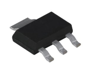 AMS1117-5.0V, 1A, SOT-223 Voltage Regulator IC (Pack of 5 ICs)