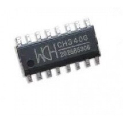 CH340G SOIC16 USB to Serial TTL-RS232 converter IC