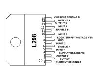 L298N Multiwatt-15V Dual Full-Bridge Driver