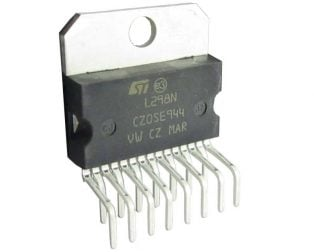 L298N Multiwatt-15V Dual Full-Bridge Driver