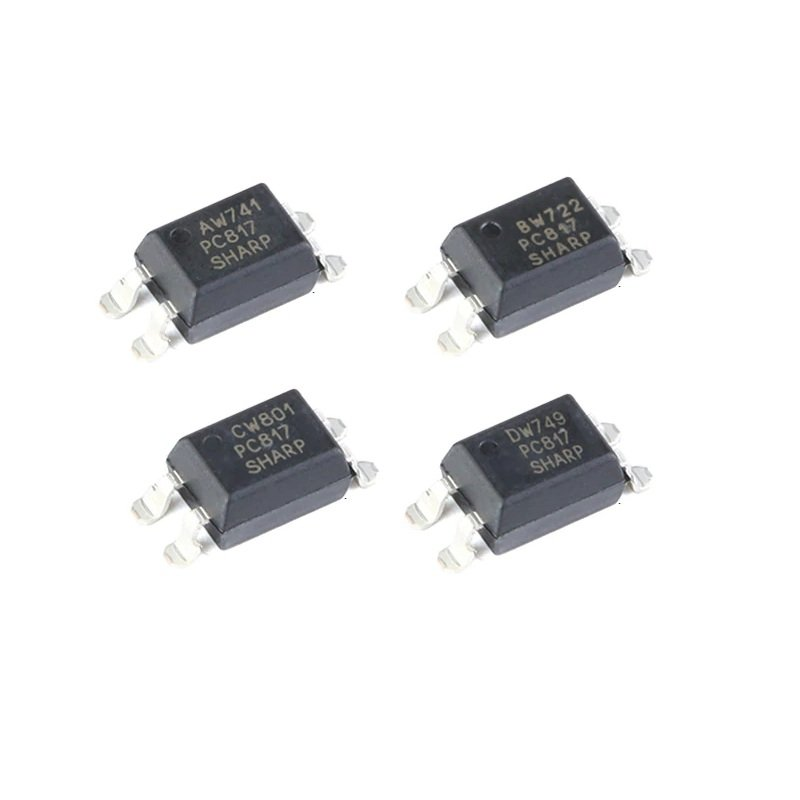 Optocoupleur EL817 DIP-4  equivalent PC817 Phototransistor