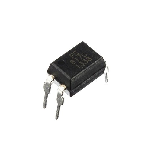 PC817 DIP-4 Transistor Output Optocoupler (Pack of 5 ICs)