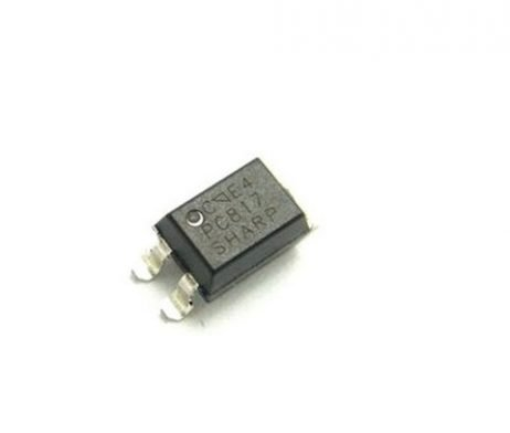 PC817 SMD-4 Transistor Output Optocoupler (Pack of 5 ICs)
