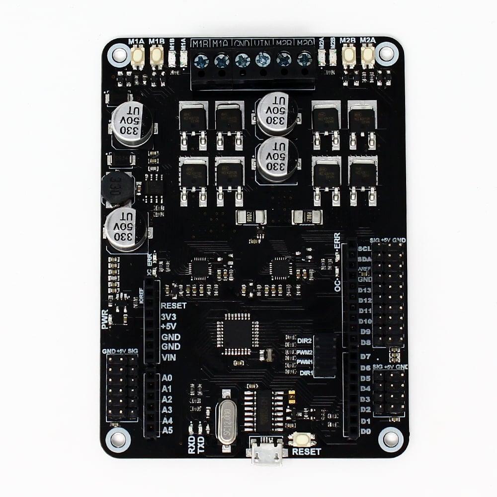 SmartElex 10D Motor Driver with Arduino UNO