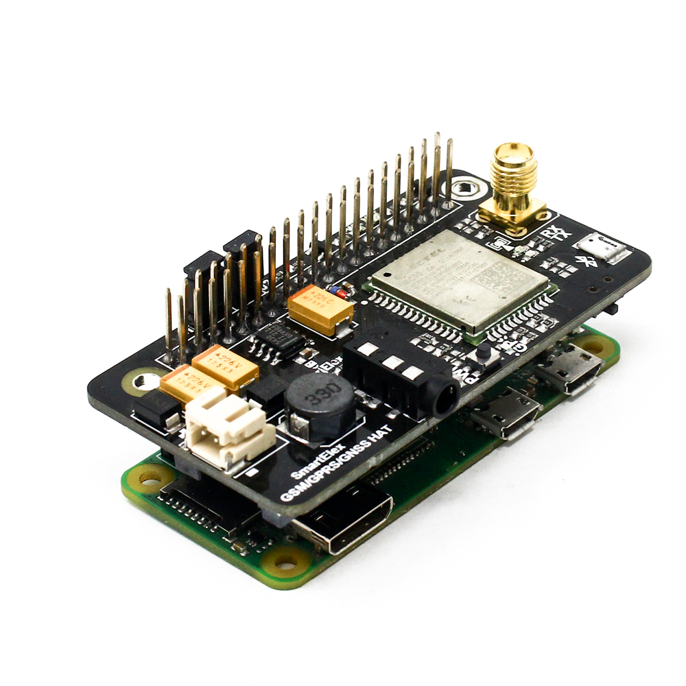 SmartElex GSM/GPRS/GNSS Bluetooth HAT for Raspberry Pi - Robu in | Indian  Online Store | RC Hobby | Robotics