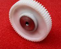 Nylon Metal Insert Spur gear (1M-64T-5-64)