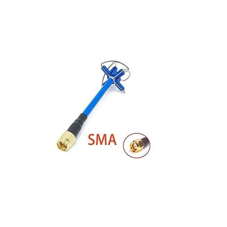 4 Leaf Clover RHCP SMA Male Antenna