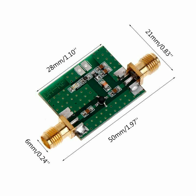 0.1-2000MHz RF Wideband Low-noise Amplifier LNA  Board Module