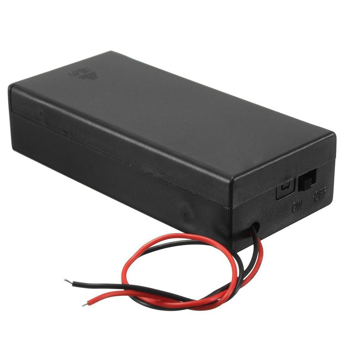 18650 x 2 battery holder with cover and OnOff Switch
