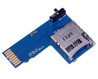 2-IN-1 Raspberry Pi Dual TF SD Card Switcher Adapter (2)