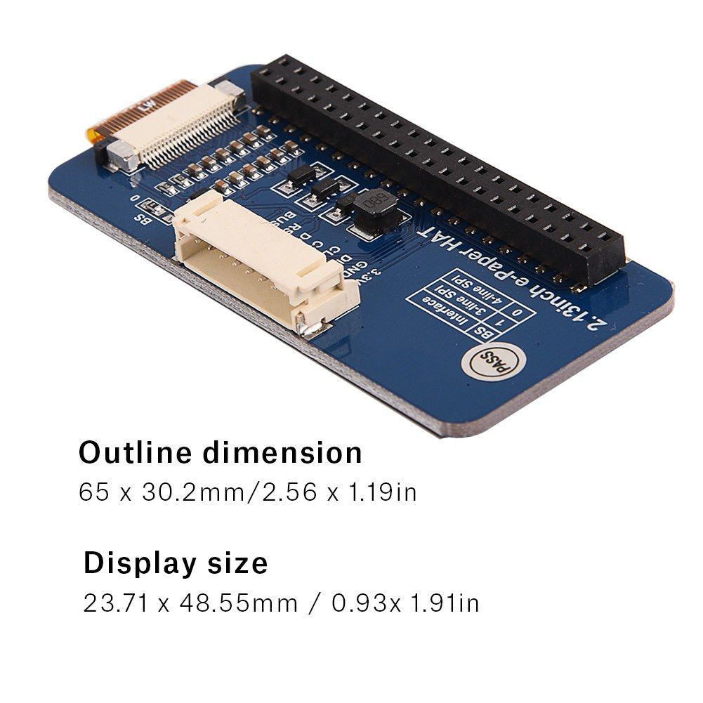 "8051 Microcontroller Development Board USB Programmer for 2.9/"" E-Paper Display"