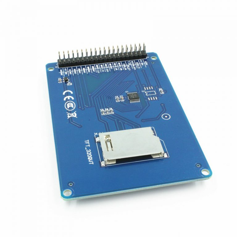 2.4 Inch TFT Touch Screen Module for UNO R3 Blue