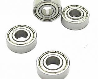 684 ZZ Bearing 4x9x4 Shielded Miniature Ball Bearings