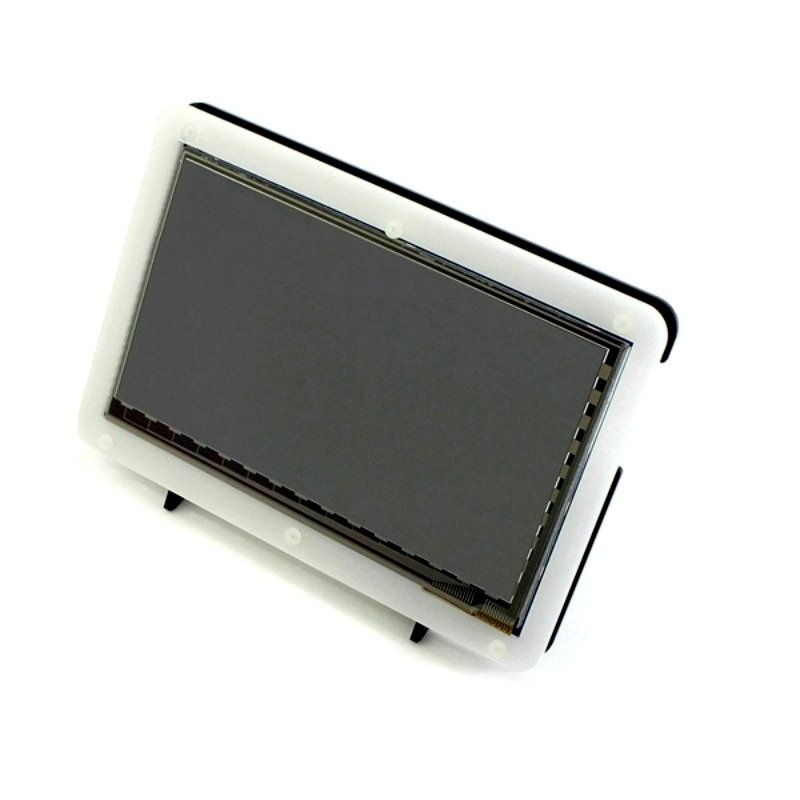 Acrylic Case for 7 Inch Display and Raspberry Pi