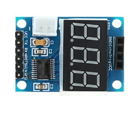 Digital Display for HC-SR04 Ultrasonic Distance Measurement Control Board