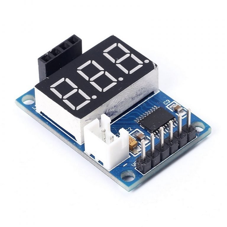 Digital Display for HC-SR04 Ultrasonic Distance Measurement Control Board