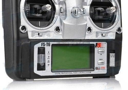 FlySky FS-T6 6CH Transmitter with FS-R6B Receiver