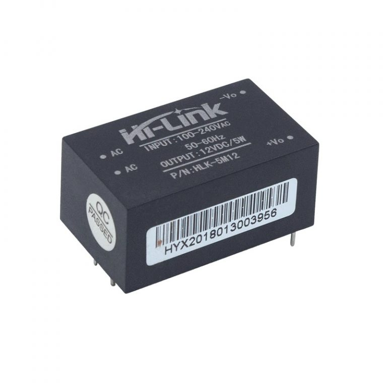 HLK-5M12 12V/5W Switch Power Supply Module