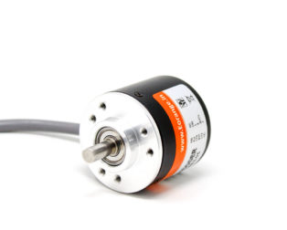 Orange Rotary Incremental Optical Encoders - ROBU.IN