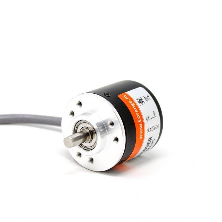 Orange Rotary Incremental Optical Encoders - ROBU.IN