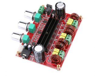 DC12-24V TPA3116D2 2.1 Channel Digital Subwoofer Power Amplifier Board