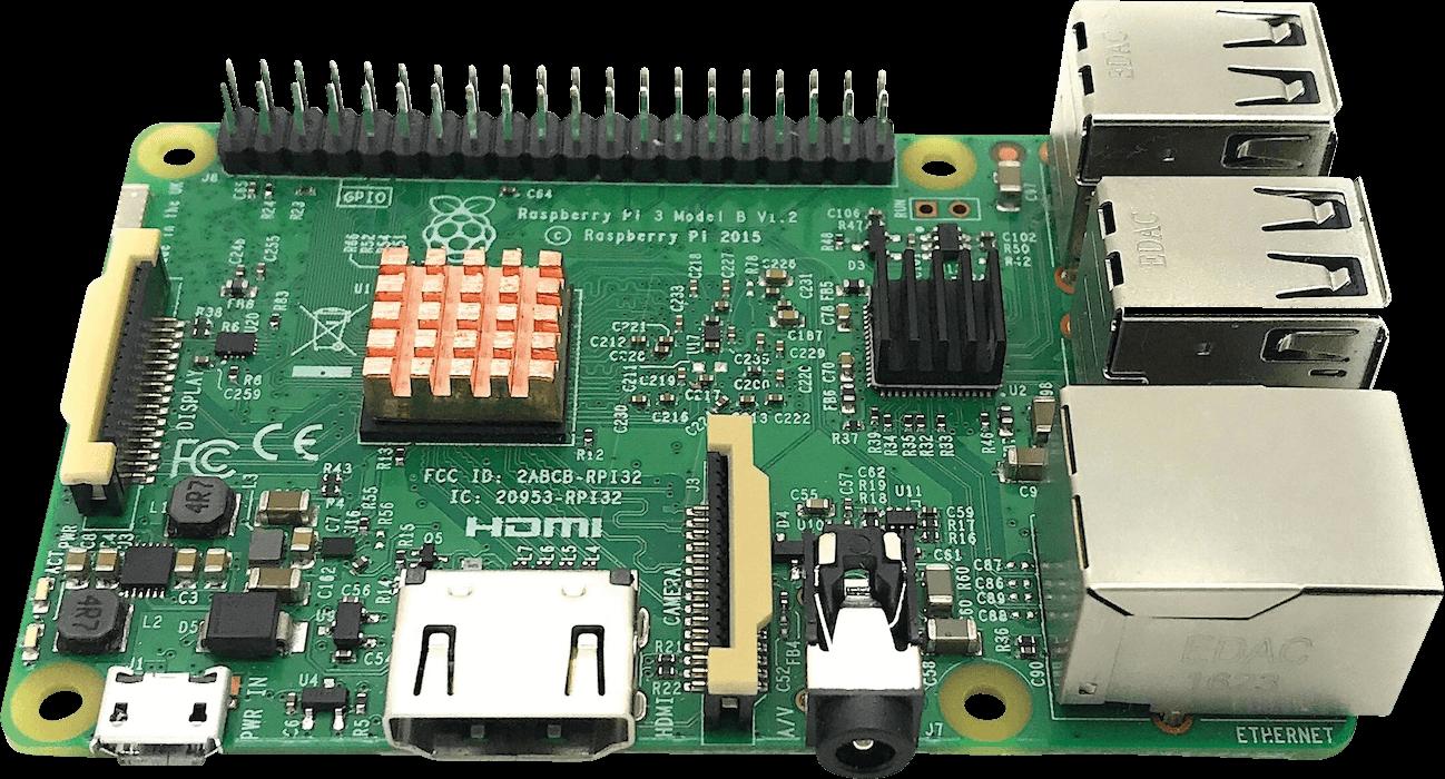 Raspberry Pi 3 Heat Sink set