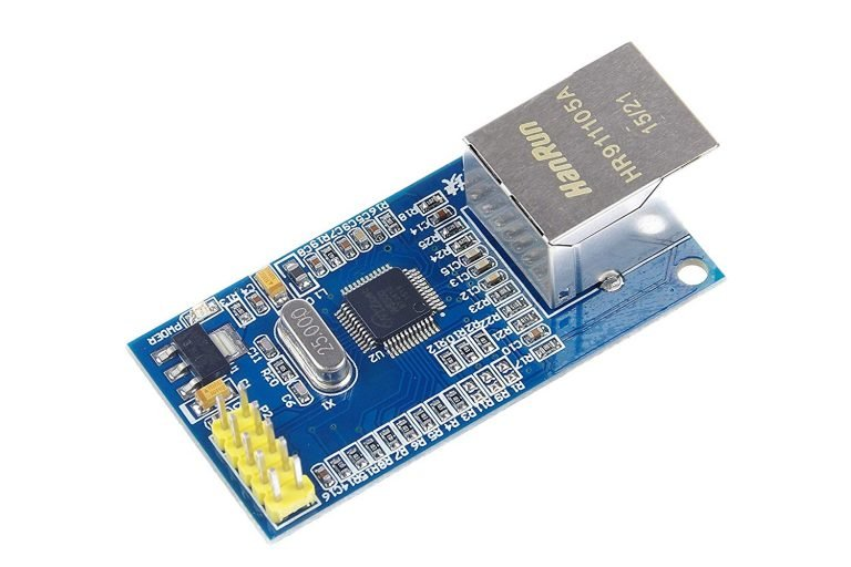 SPI to Ethernet Hardware TCPIP W5500 Ethernet Network Module